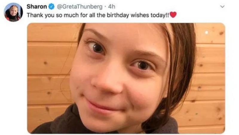 Greta Thunberg change de prénom sur Twitter: désormais, appelez-la
