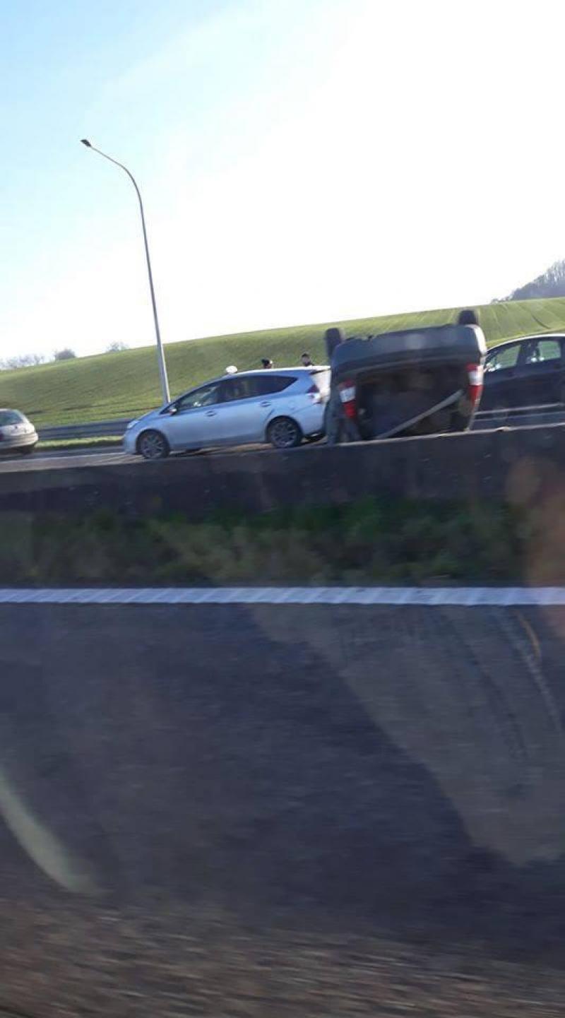 L'accident s'est produit sur le R5.