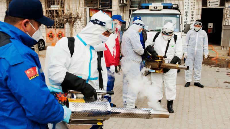 Le bilan s'alourdit à 213 morts et 10.000 cas de contamination — Coronavirus/Chine