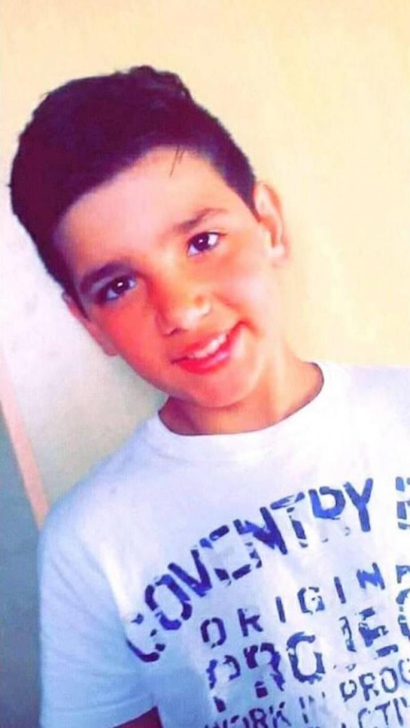 Vitor Rafael Bastos Godinho, 14 ans.