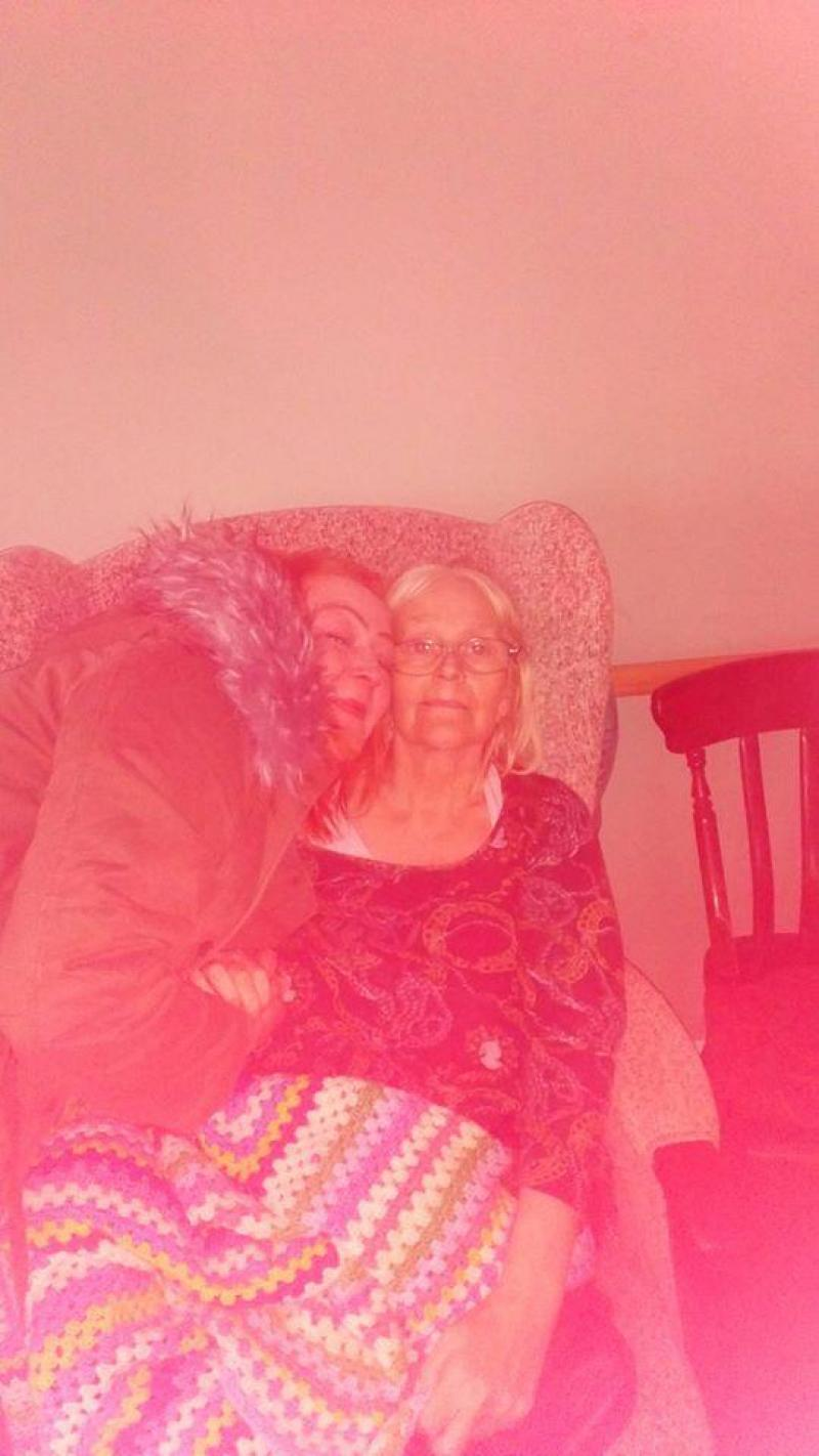 Laura et sa maman Julie