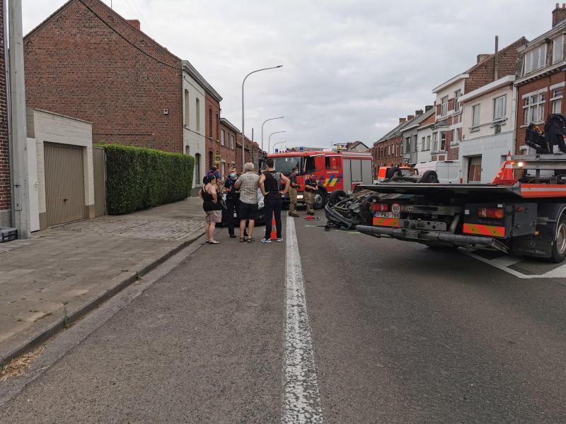 Pompiers, policiers et ambulanciers étaient présents.