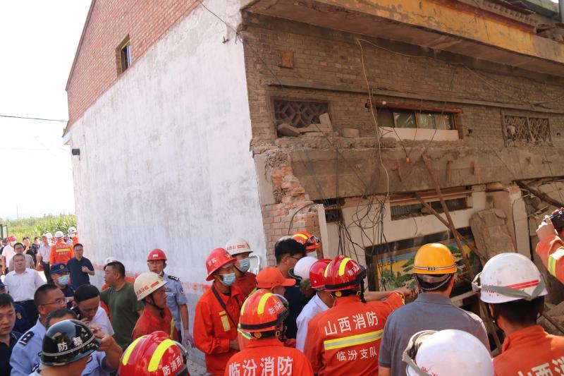 Chine: un restaurant s'effondre, au moins 17 morts
