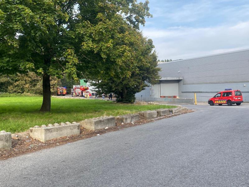 L'incendie s'est déclaré à l'arrière de la grande surface