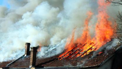 Courcelles: un incendie se déclare dans une habitation