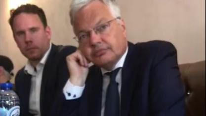 Une vidéo montrant des élus du MR parlant de l'abattage rituel relance le débat: «Il n'y a pas de raison d'avancer sur cette voie», dit Reynders