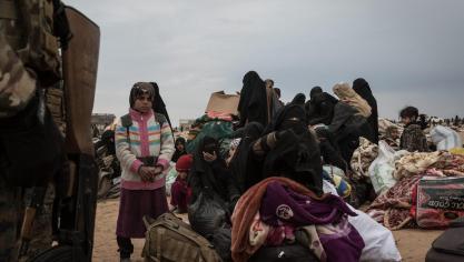 Belges en Syrie: 6 femmes de combattants belges de l'EI ont quitté le camp où elles se trouvaient