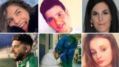 Julie, Vitor, Isaura, Francisco, Chloe…: le coronavirus a fait aussi beaucoup de victimes parmi les plus jeunes (photos)