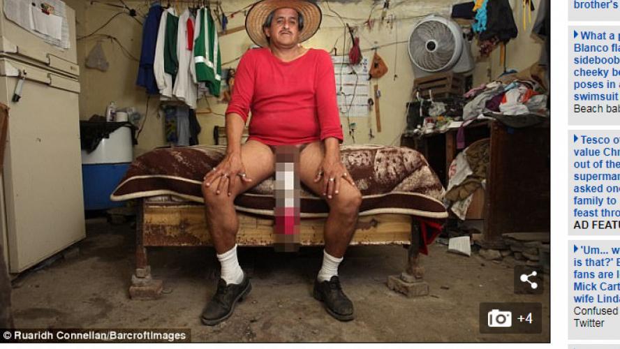 Voici Roberto, l'homme au plus long pénis au monde (48 cm), reconnu handicapé à cause de sa «condition»! (vidéo)
