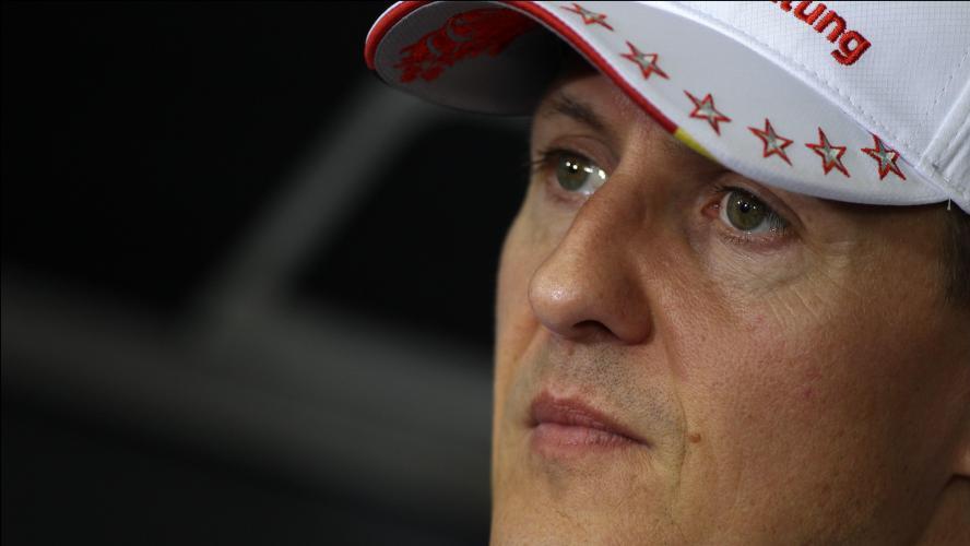 Enfin des nouvelles — Michael Schumacher
