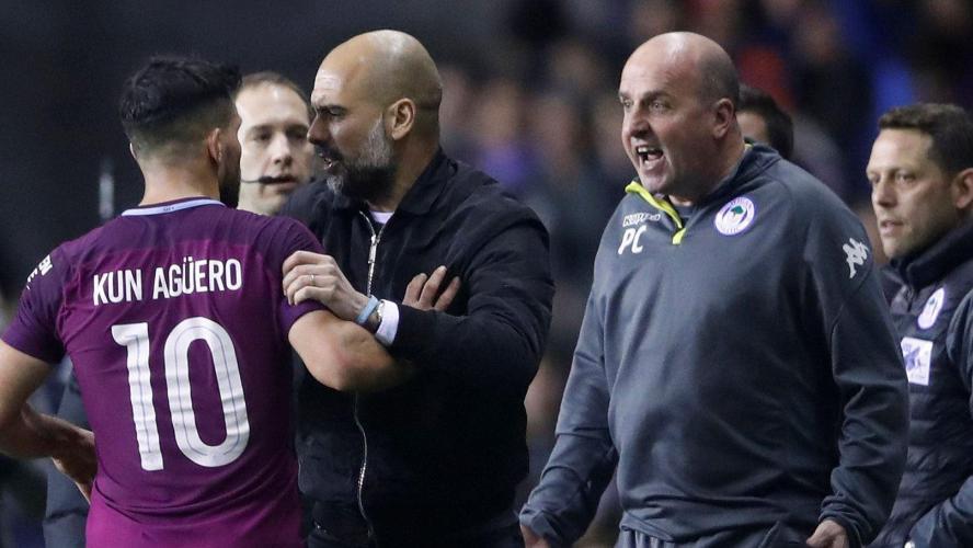 VIDÉO - Sortis par une D3, Agüero et Guardiola perdent leur sang-froid