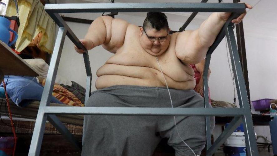 Homme Le Plus Gros Du Monde l'homme le plus gros du monde, après avoir perdu 250 kilos, rêve de