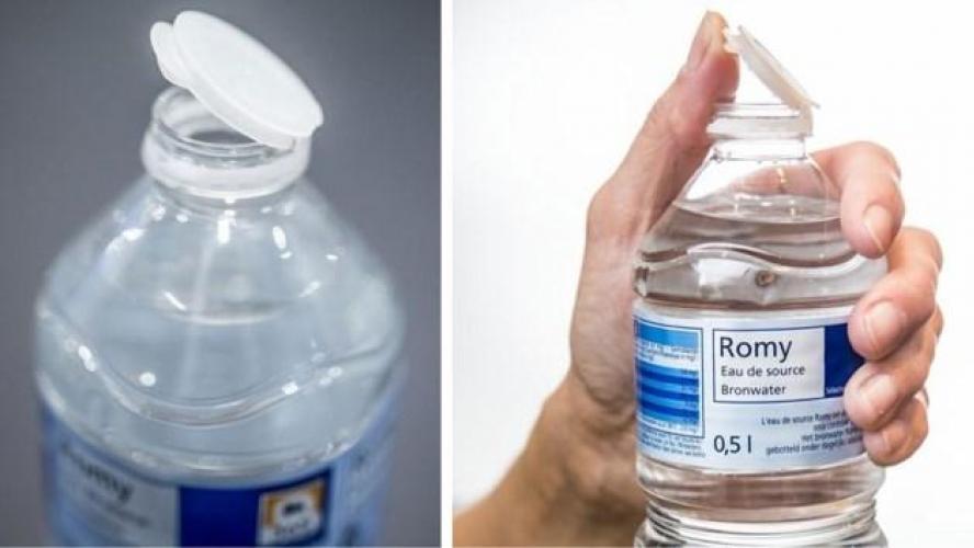 un nouveau bouchon sur les bouteilles d eau qui nerve les consommateurs blog mouscron. Black Bedroom Furniture Sets. Home Design Ideas