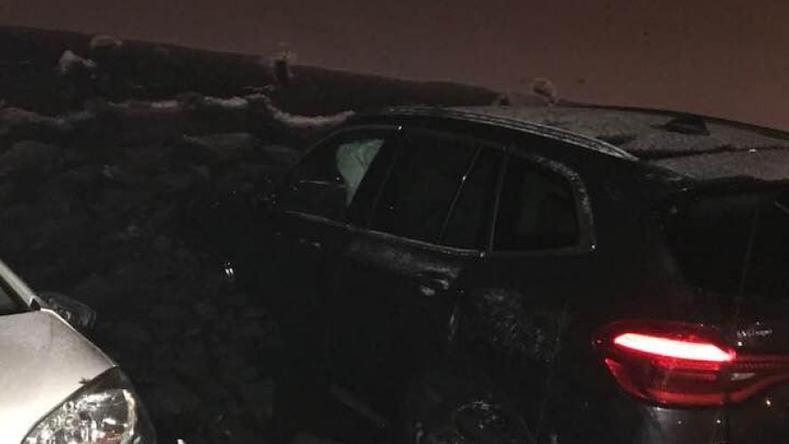 Deux voitures ont fini dans le Lac de Genval vendredi soir