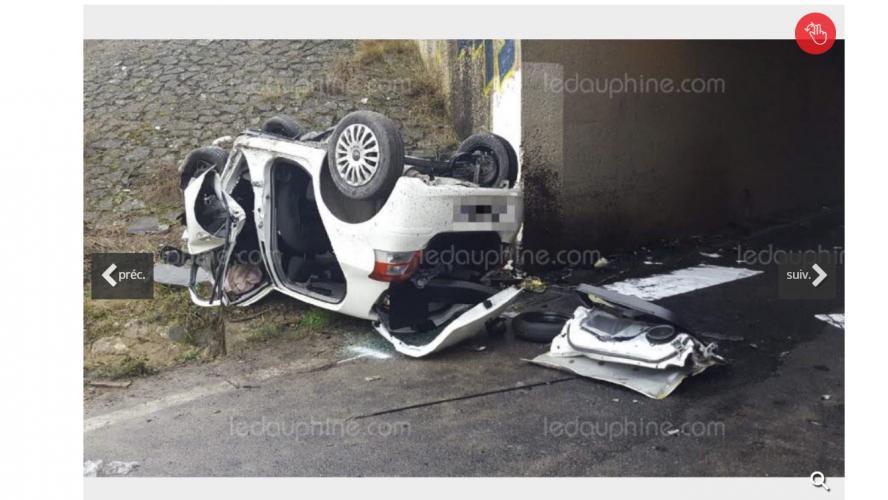 Un homme et deux enfants tués dans un accident — Bédarrides
