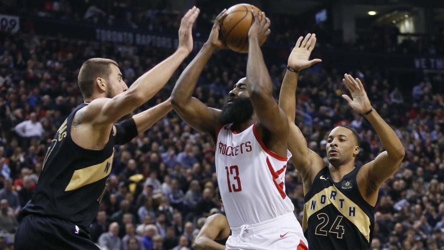 Les Raptors mettent fin à la séquence victorieuse des Rockets