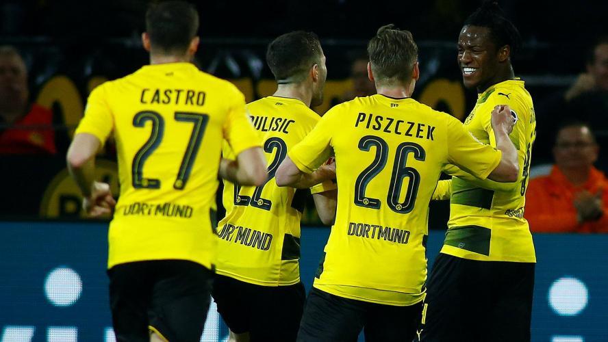 Michy Batshuayi héros de Dortmund — Bundesliga