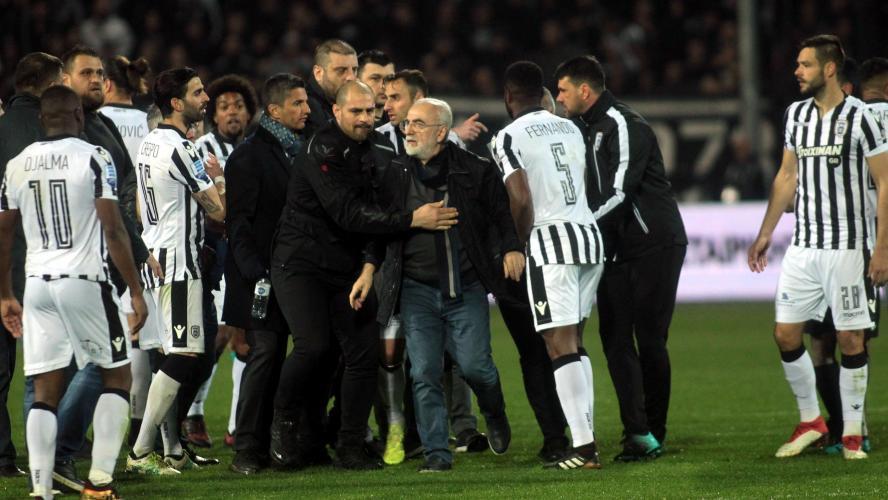 Le président du PAOK suspendu 3 ans — Grèce