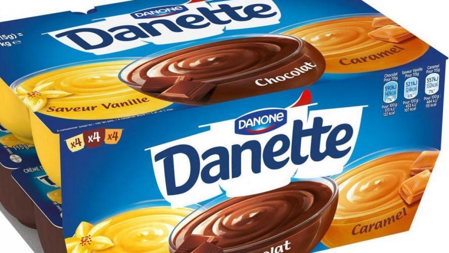 Danone rappelle des lots de Danette