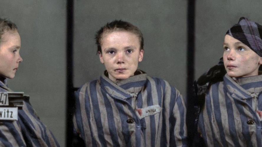La photo d'une victime d'Auschwitz bouleverse le web