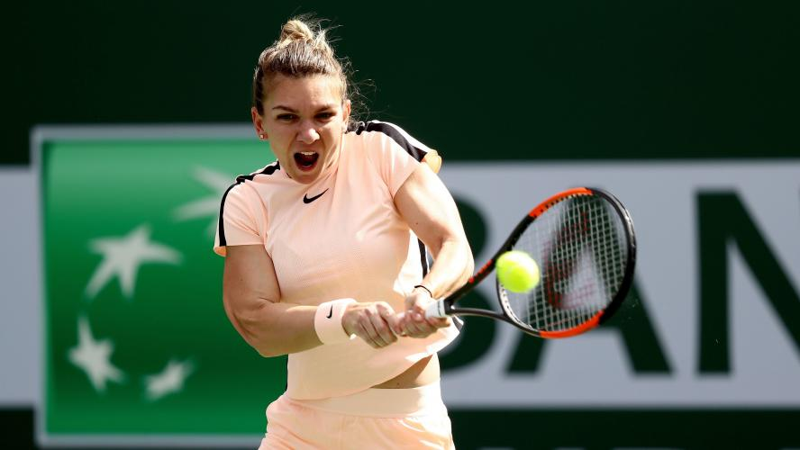 Osaka s'invite en demies face à Halep — Indian Wells