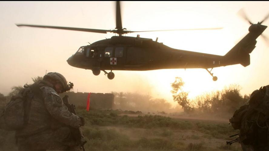 Un hélicoptère américain s'écrase en Irak, pas de survivant