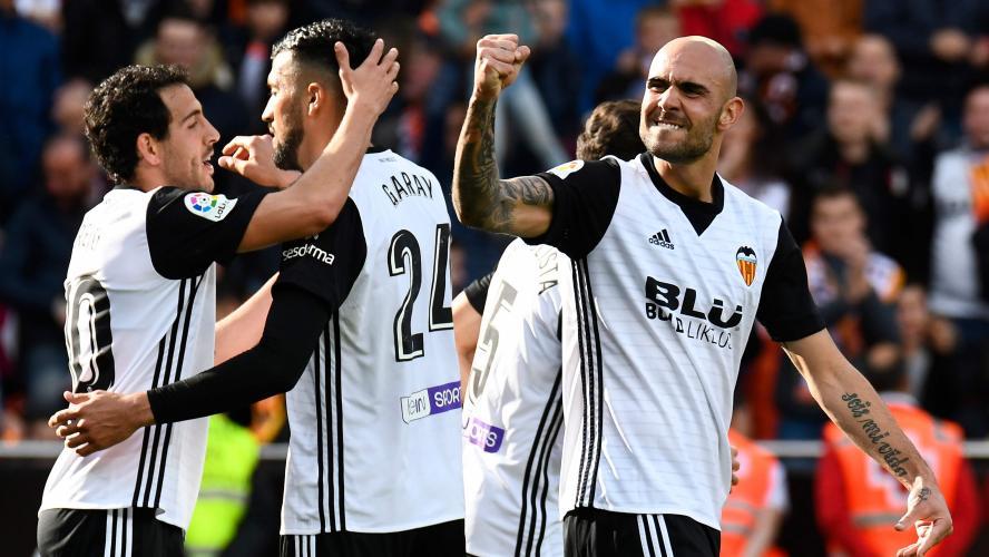 Valence s'impose contre le Deportivo Alaves — Liga