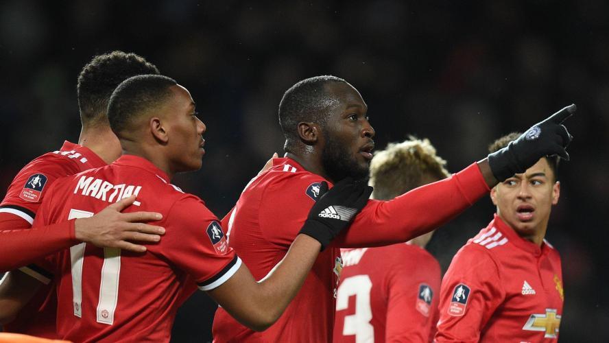 071c9fe4 FA Cup: avec un Lukaku décisif, Manchester United s'impose contre Brighton et  file en demi-finale (2-0, vidéos)