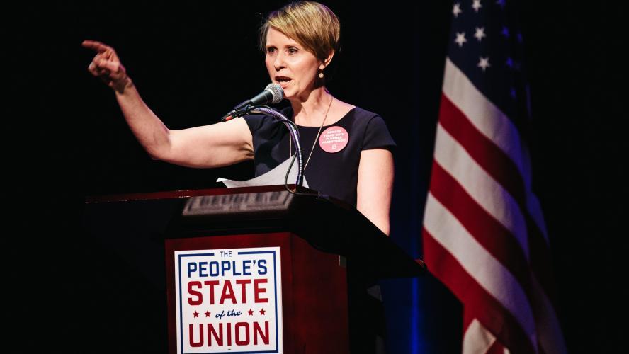 L'actrice Cynthia Nixon veut devenir gouverneur de New York