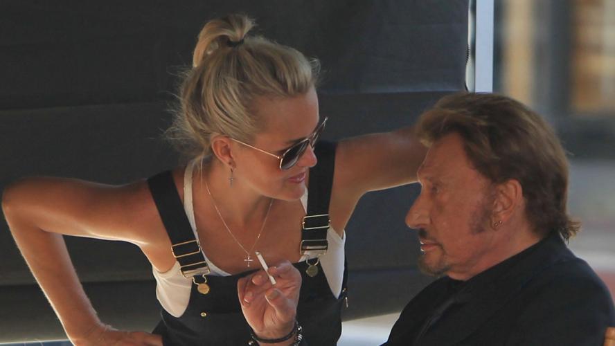 Ses premières confidences depuis la mort de Johnny Hallyday — Adeline Blondieau