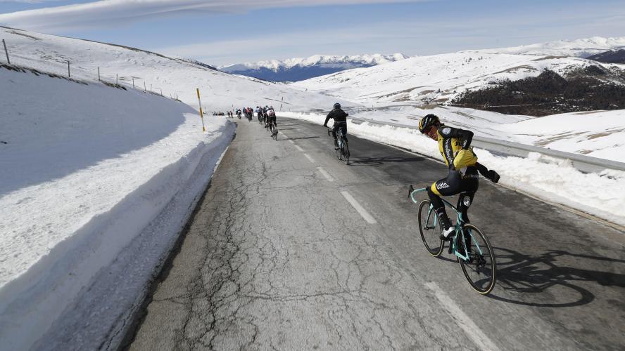 Pantano remporte la 5e étape, Valverde reste leader — Tour de Catalogne