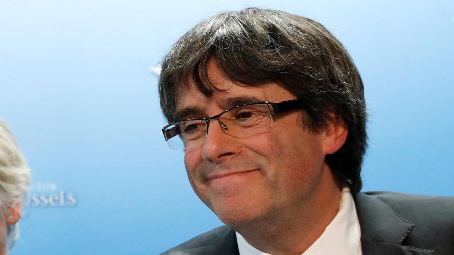 Pour Puigdemont l'indépendance n'est pas la seule solution — Catalogne