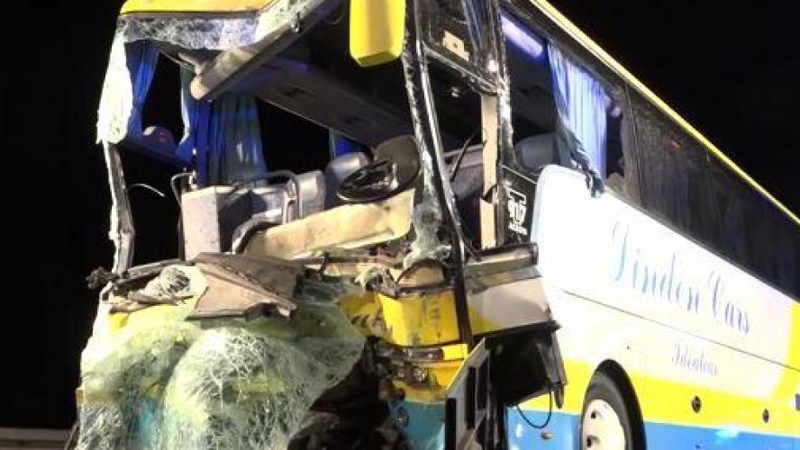 Accident d'un autocar belge en Bavière: 1 mort et 18 blessés