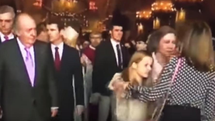 Tensions entre Letizia d'Espagne et la reine Sofia (vidéo) — Famille royale