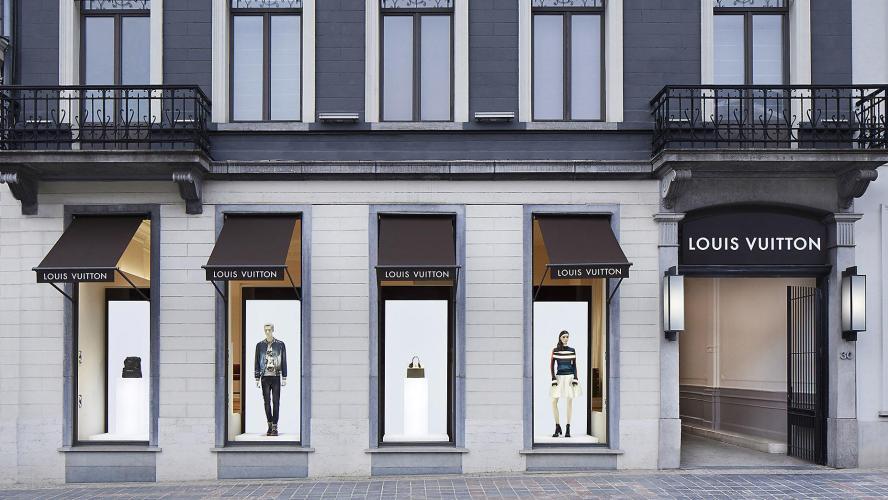 4e0eded76303 Bruxelles  tentative de vols à la boutique Louis Vuitton