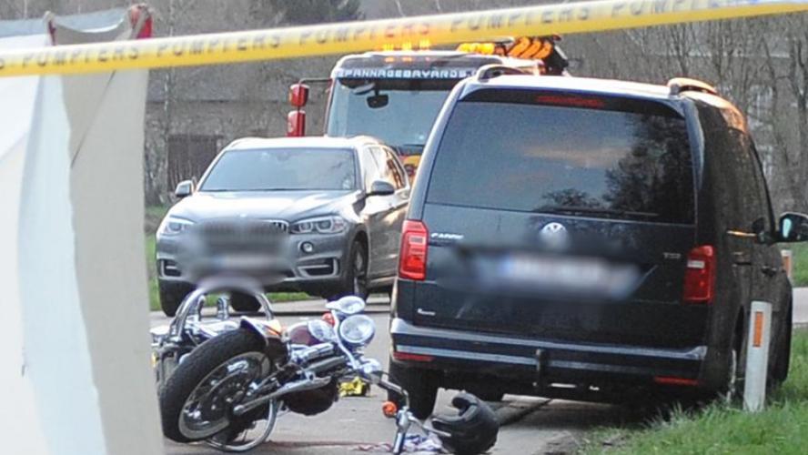 Accident à Dalhem: la passagère de la moto perd la vie