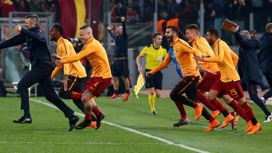 Barcelone se désole, Rome jubile — Ligue des champions