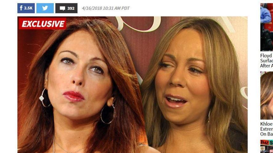 Mariah Carey accusée de harcèlement sexuel par son ancienne manager — Scandale
