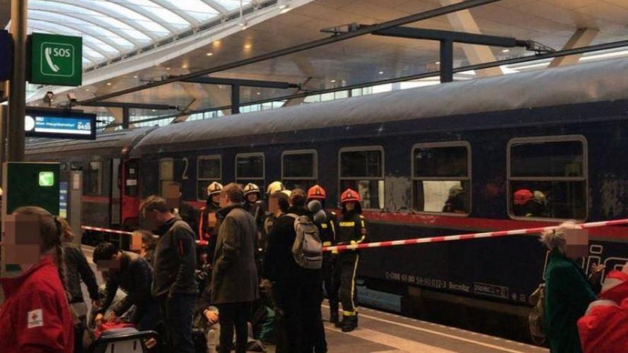08:21Une collision de trains à Salzbourg fait plus de 30 blessés