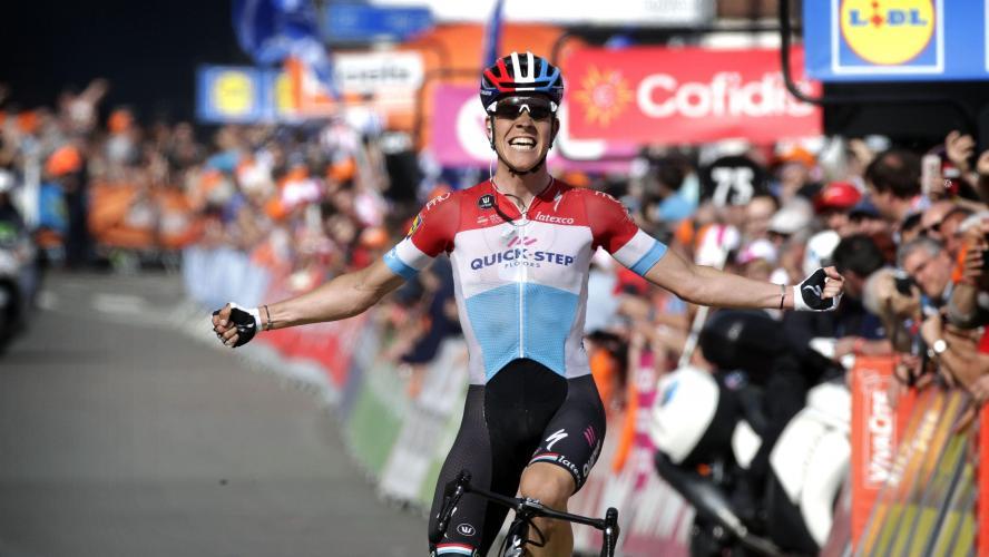 Julian Alaphilippe vainqueur, le classement — Flèche Wallonne