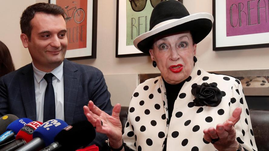 Geneviève de Fontenay et Florian Philippot unis contre Emmanuel Macron