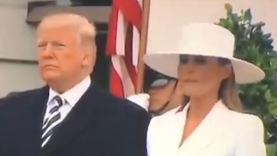 Une amitié qui crève l'écran — Trump et Macron