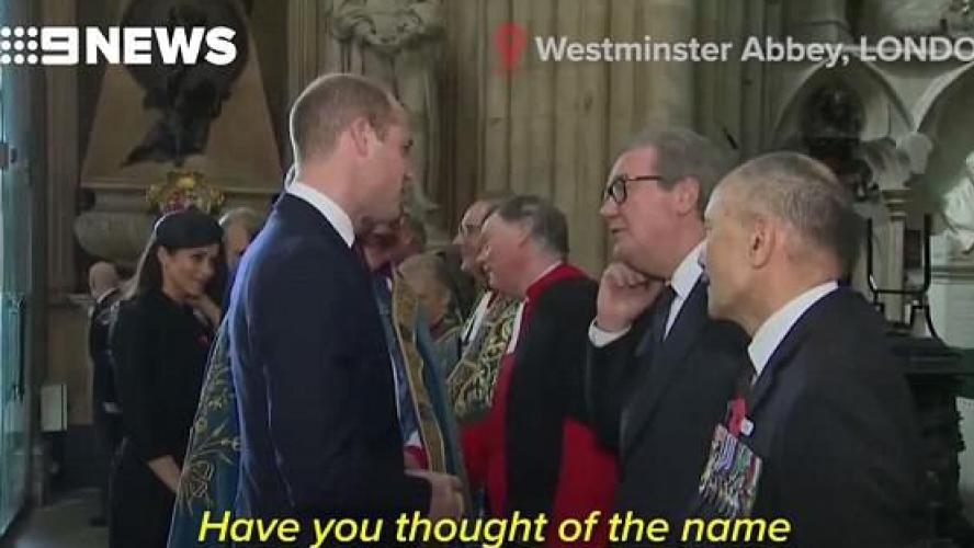 Le fils de Kate et William s'appelle Louis Arthur Charles — Royaume-Uni