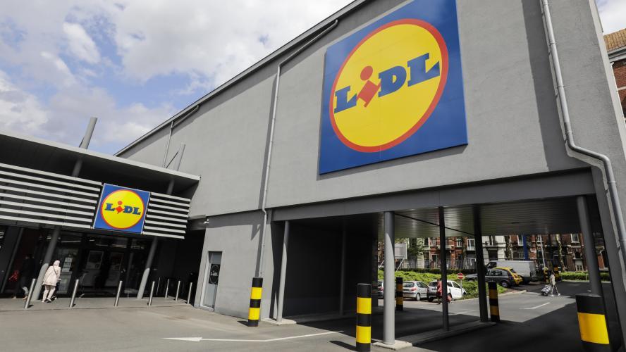 Au moins 85 magasins LIDL sont touchés par le mouvement de grève