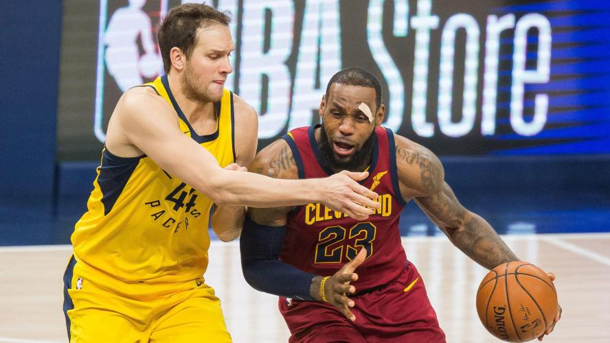 Basket - NBA : LeBron James relativise sa performance contre Toronto !