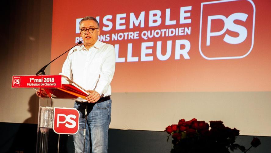 Massin démissionne comme président de la fédé socialiste carolo