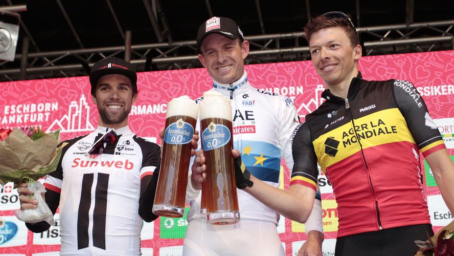Eschborn-Francfort  Kristoff, vainqueur comme chaque année depuis 2014 0a073a9b774