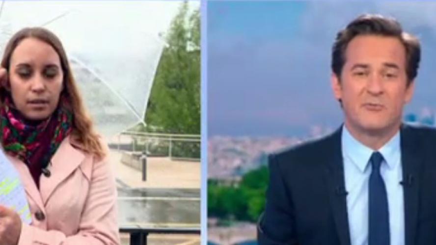Angélique Etienne, journaliste de France 2 fait un malaise en direct — Vidéo