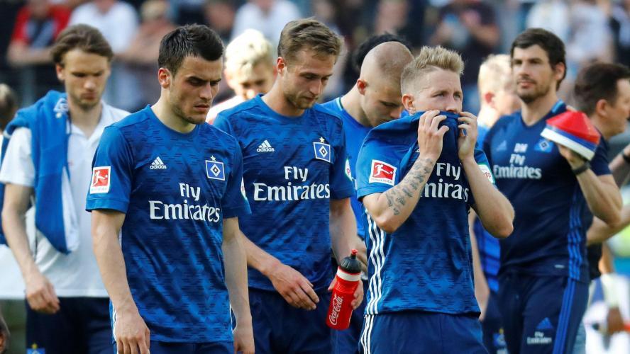 Hambourg quitte l'élite après 54 ans — Bundesliga