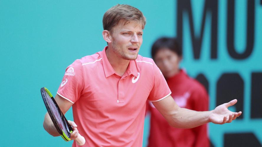 David Goffin affrontera l'Argentin Leonardo Mayer au premier tour — ATP Rome